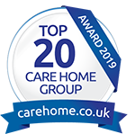Care Home UK 2019 Top 20 Group Award