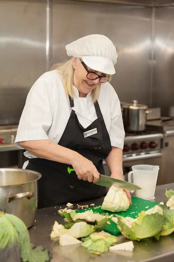 Mandy is Lukestone Care Home's fabulous Chef.