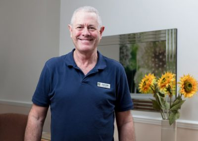 David – responsible for Maintenance at Lukestone Care Home.