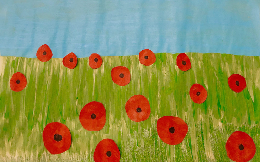 Poppy Crafts And Remembrance At Bromley Park Care Home Nellsar Care
