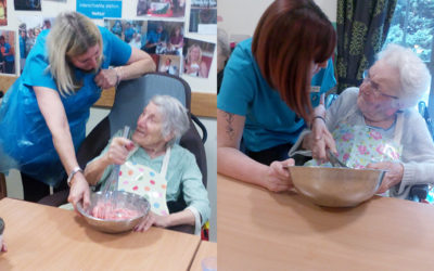 Gardening and Cookery Clubs at Hengist Field Care Home