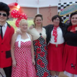 Dreamboats and Petticoats show at Loose Valley Care Home