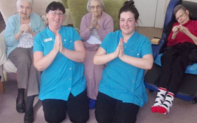 Relaxing Namaste treatments at Loose Valley Care Home