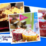 Cupcake pictures promoting Loose Valley's Cupcake day fundraising event