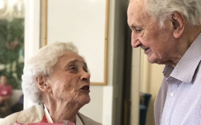 Couple celebrate their 70th wedding anniversary at Bromley Park Care Home
