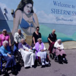 Loose Valley residents and carers on an outing to Sheerness