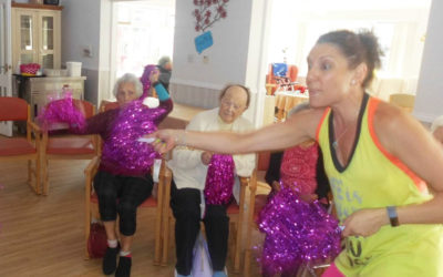 Zumba class at Woodstock Residential Care Home