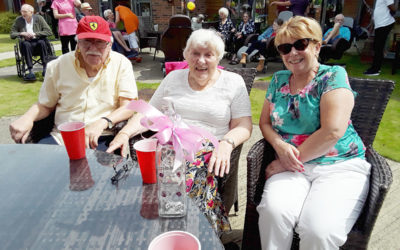 Summer Fete 2019 at Hengist Field Care Home