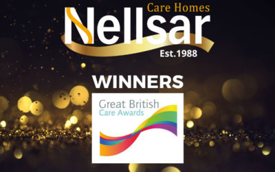 Nellsar Care Homes win two awards at The Great British Care Awards 2019