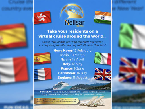 Around the world with Nellsar Cruises